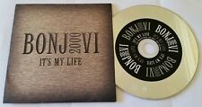 "promo! BON JOVI 2 track CD single ""IT'S MY LIFE"" (UK Remix+LP version) PC Aussie"