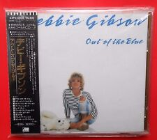 cd 1987 printed in japan gold 24 k debbie gibson out of the blue shake your love