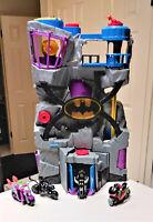 Fisher-Price Imaginext DC Super Friends Batman Batcave Lot