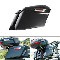 "4"" CVO Extended Hard Saddlebags W/ Latch For Harley Touring Road King 2014-2020"