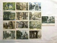 USSR/Soviet Russia Full Set of 12 Postcards Peterhof Lithograph A.N. Benoit 1968