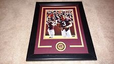 Tyrod Taylor & Logan Thomas Virginia Tech Hokies Signed Framed 8x10 Bills Browns