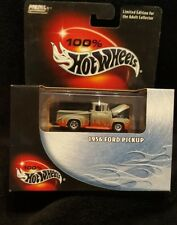 NEW HOT WHEELS 100% 1956 FORD PICK UP 1:64 COLLECTOR #08 2003 (HW-4)