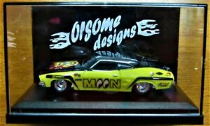 Hot Wheels Custom XB Ford Falcon Coupe, Real Riders, Muscle Car, Mooneyes