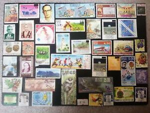 Sri Lankan Used Beautiful Postal Stamp Collection R56