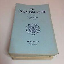 Vintage The Numismatist Books - American Numismatic Association - 1960 COMPLETE
