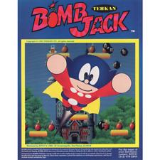 Bomb Jack Free play and High Score Save Kit Bombjack Arcade