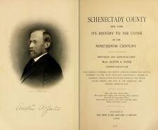 1902 SCHENECTADY County New York NY, History and Genealogy Ancestry DVD CD B25