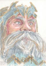 The Hobbit An Unexpected Journey, Sketch Card by David Rabbitte 1/1