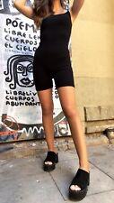 brandy melville black high waist fitted strechy Griffin biker shorts NWT sz XS/S