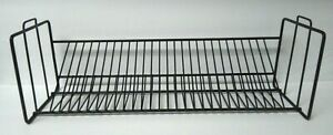 Black CD Wire Storage Rack Holds 28 items 26 Single 2 Double