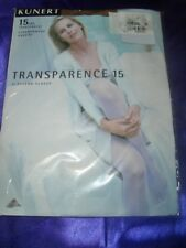Kunert Transparence Feinstrumpfhose Gr. 42-44 rio 15 den Collant Tights OVP