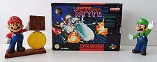 Super Nintendo SNES juego-Super R-Type-instrucciones + embalaje original-cib