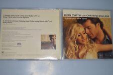 Ricky Martin With Christina Aguilera – Nobody Wants To Be Lon. CD-SINGLE PROMO.