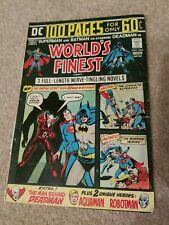 WORLD'S FINEST COMICS #223 Worlds (DC 1974) Superman Batman Origin of DEADMAN