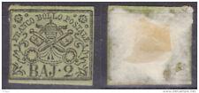 Italie Etats de l'Eglise rare armoiries n°3 de 1852 nf à saisir