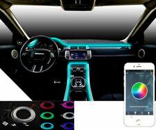RGB LUCE LED INTERNI AUTO Neon Striscia Lampada SUONO telefono app IT