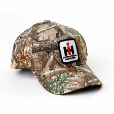 International Harvester Ih Logo Camo Cap with Hook & Loop Closure