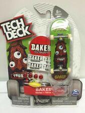 New RARE Tech Deck BAKER Fingerboards Skateboards Sk8 Series 1 FIGGY Model
