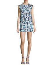 IRO Deinia Abstract Print Open Back Dress 36 NWT