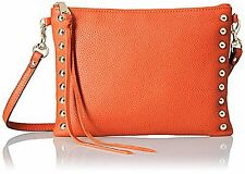 NWT Rebecca Minkoff Jon Poppy Red Leather Studded Crossbody