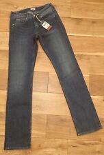 Hilfiger Denim Womens W27 L32 Mid Rise Sandy Straight Jeans Mid Stretch BNWT £80