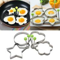 Cooking Kitchen-Tools Stainless Steel Fried Egg Shaper Mould-Mold Pancake R U9Q2