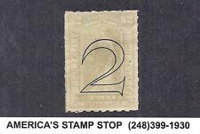 1900 US Revenue - R185 $2 Gray, Surcharge 2 Type A, MH - No Faults*