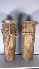 Old instrument of music tam-tam Africa. ancien instrument de musique tam-tam