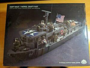 Brickmania Swift Boat Patrol Craft Fast BKM 1054 Brand New Sealed
