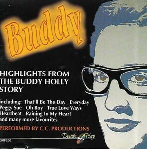 Buddy - Highlights From The Buddy Holly Story (No Date CD Album)
