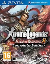 Dynasty Warriors 8: Xtreme Legends Complete Edition [Sony PlayStation Vita PSV]