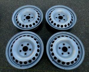 4 x Original Stahlfelgen VW T5 / T6  6,5Jx16H2 5x120  ET51 (7H0601027D) #18450