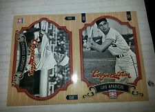 2 card lot 2012 Cooperstown Chicago White Sox Comiskey,Aparicio