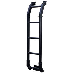 Rear tail ladder climbing Black Aluminum 2019 2020 Suzuki Jimny JB74 Australia