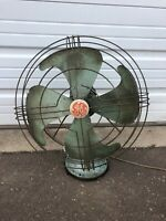 Vintage General Electric Vortalex Oscillating Fan - No. 91 - Works