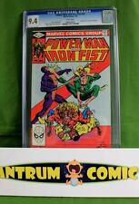Power Man and Iron Fist #84  CGC 9.4  -  4th appearance of Sabretooth, white pgs