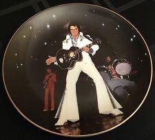"Elvis Presley In Concert ""Mississippi Benefit"" #4333 Plate w/Original Box & Coa"