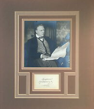 Feodor CHALIAPIN (Opera): Signature and Original Photo