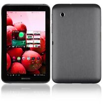 Skinomi Brushed Steel Tablet Skin+Screen Protector for Samsung Galaxy Tab 2 7.0
