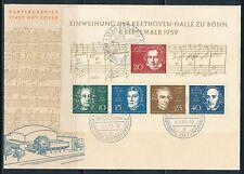 Ersttagsbrief-Briefmarken aus der BRD (ab 1949) mit Kunst-Motiv