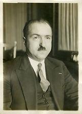 """""""Légion d'Honneur au Docteur CHEYNET 1932"""" Photo originale G. DEVRED / Agce ROL"""