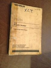 CAT 518 SKIDDER CATERPILLAR PARTS BOOK  S/N 55U 95U