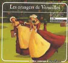 27755// LES ORANGERS DE VERSAILLES LIVRE AUDIO LU PAR CELINE MAUGE COFFRET 2 CD