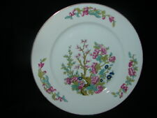 Antique Made in Czechoslovakia Porcelain Plate ~ floral design