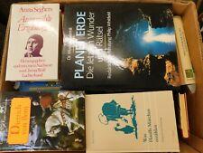 41 Bücher Hardcover Romane Sachbücher verschiedene Themen Paket 4