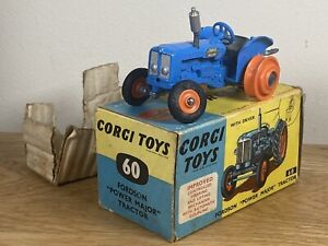 Corgi Toys Fordson Power Major Tractor 60 Diecast Model Large Collection