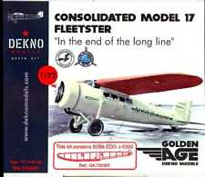 Dekno Models 1/72 CONSOLIDATED MODEL 17 FLEETSTER WITH FLOATS