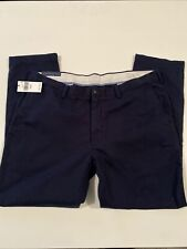 NWT Polo Ralph Lauren Navy Blue Aviatra Mens Slim Fit Ctn Chino Pants Size 40X30