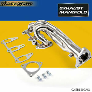 UK For MAZDA RX8 SE3P 1.3L Stainless Exhaust Manifold 3-1 Racing Header 03-10